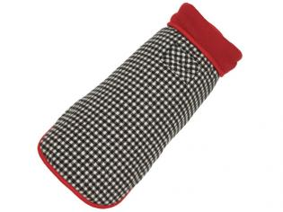 Houndstooth Fleece Jacket