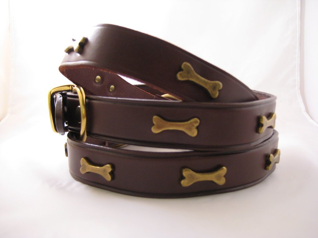 Leather Bone Collars