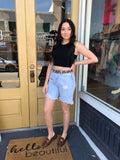Lindsey denim shorts