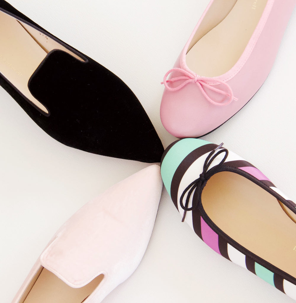 colour shoes; coloured flat shoes; comfortable womens shoes; comfortable ballet flats; comfortable loafers; fletcherlovell
