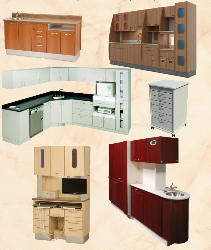 DENTAL OFFICE CABINETS