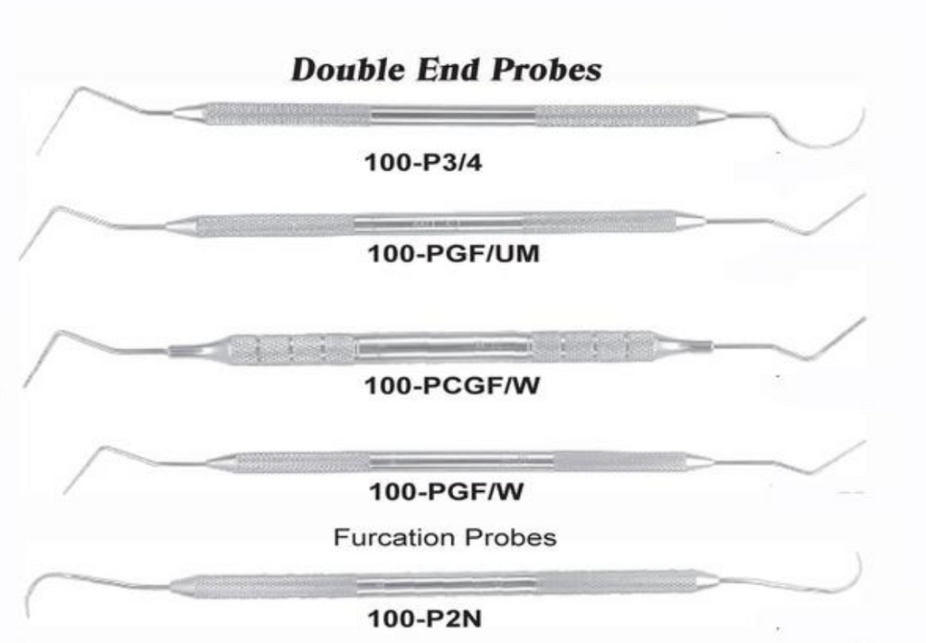 USA Delta Double End Probes
