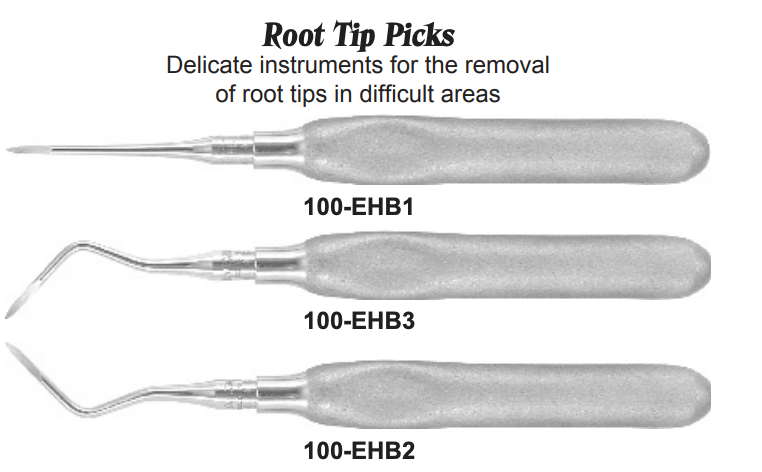 USA Delta Root Tip Picks Dental Instruments