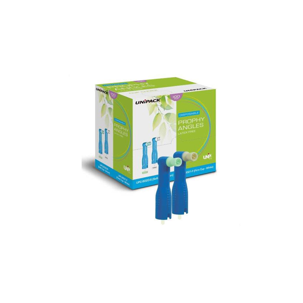 Unipack Disposable Prophy Angles 100/Box.