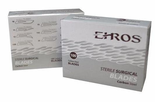Ehros Surgical Blades Carbon Steel