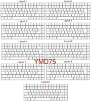 YMDK Assembly Service For YMD96 YMD75 GH60 YD60M Switches leds