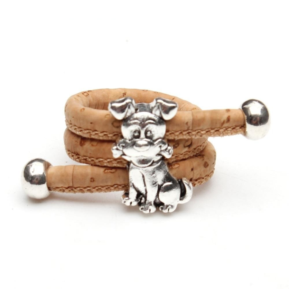 ring, vintage animal women Ring. - movevegan, vegan fashion product trends, cork, animal free