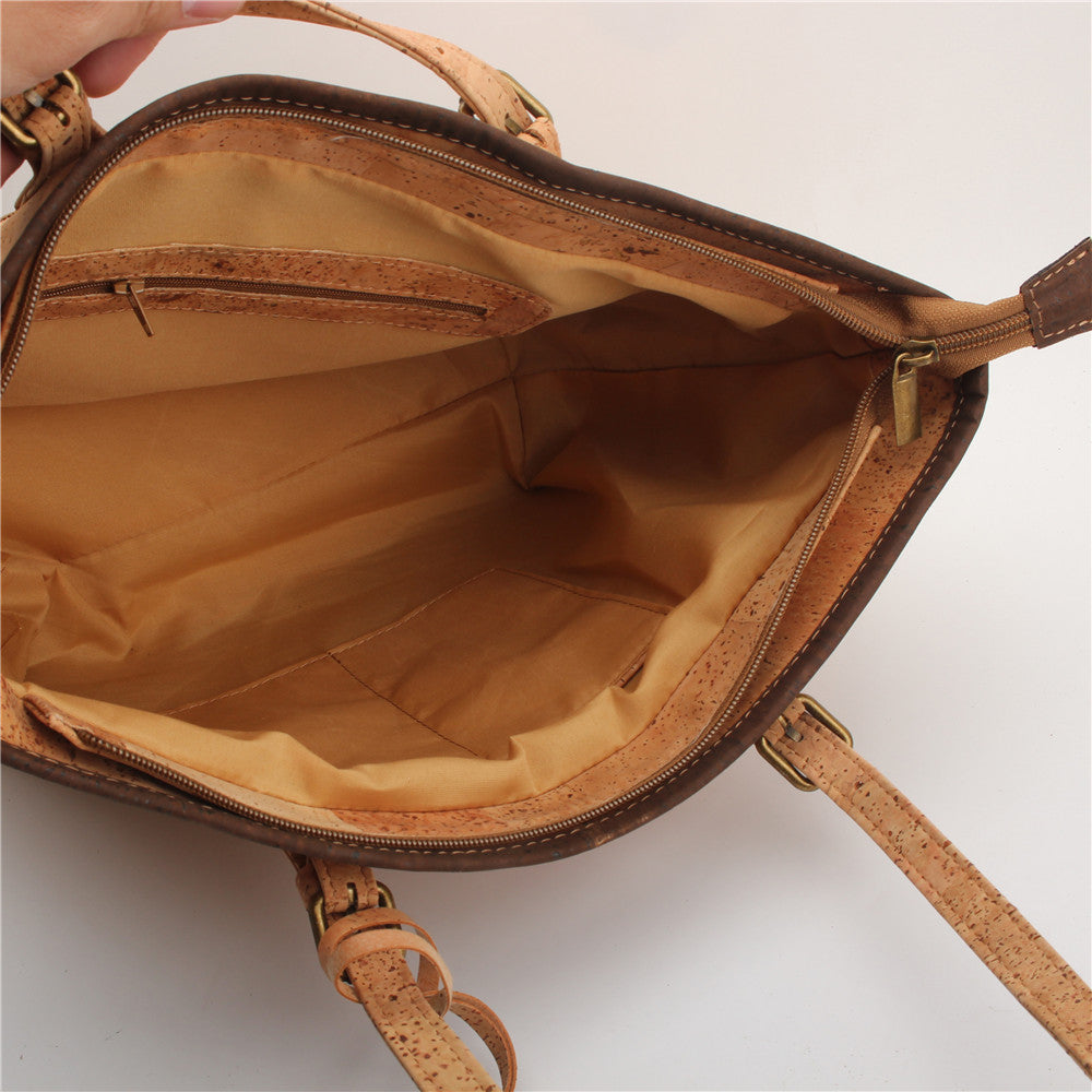 handbag, Veggie leather handbag - movevegan, vegan fashion product trends, cork, animal free