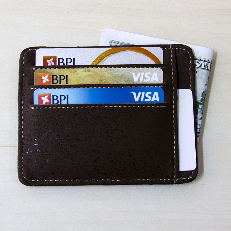 wallet, Cash and card holder - movevegan, vegan fashion product trends, cork, animal free