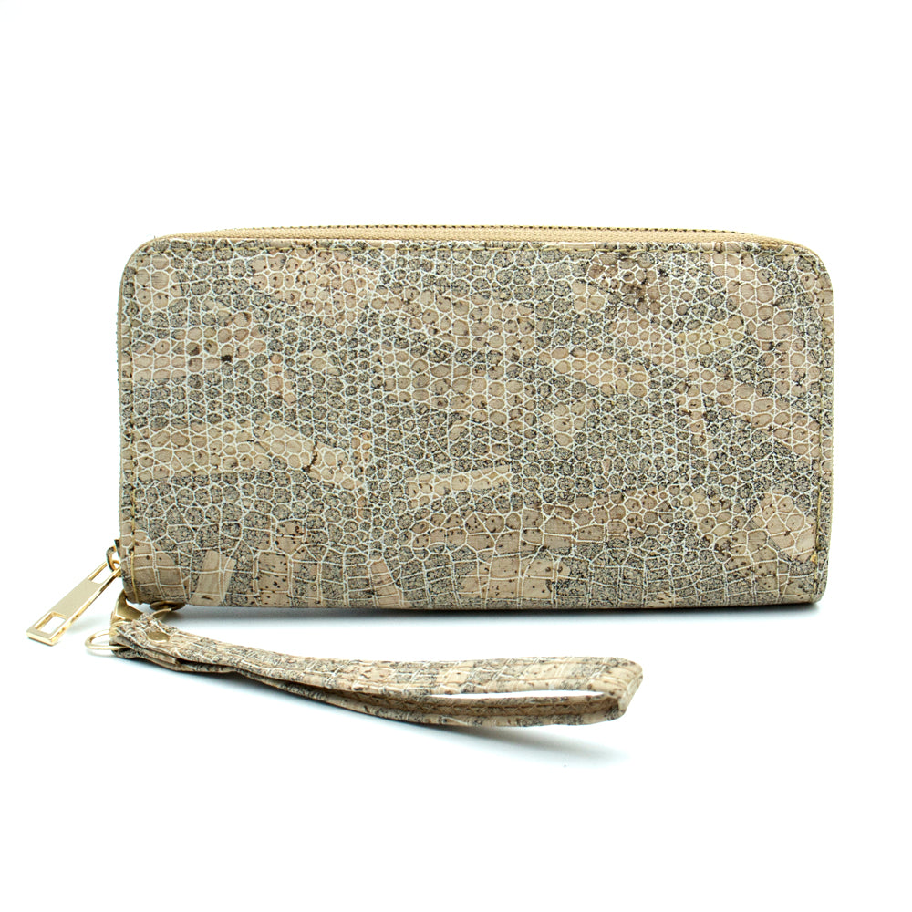 wallet, Snake Skin Imitation Wallet - movevegan, vegan fashion product trends, cork, animal free