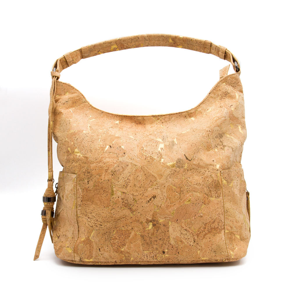 women bag, Trendsetting Shoulder bag in Urban Style - movevegan, vegan fashion product trends, cork, animal free