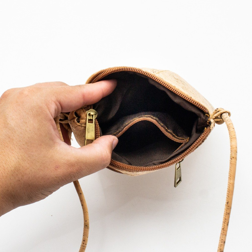 bag, Crossbody cork bag for women - movevegan, vegan fashion product trends, cork, animal free