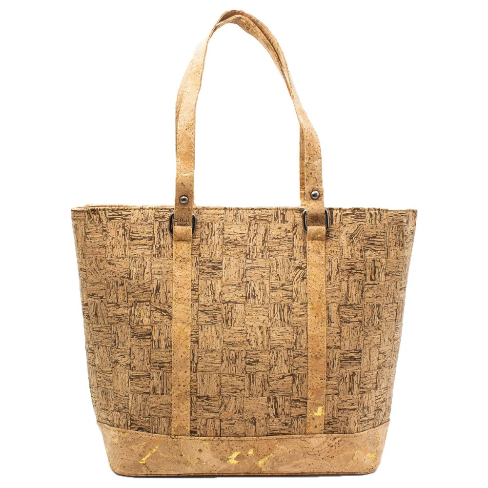 bag, Casual Wood texture handbag - movevegan, vegan fashion product trends, cork, animal free