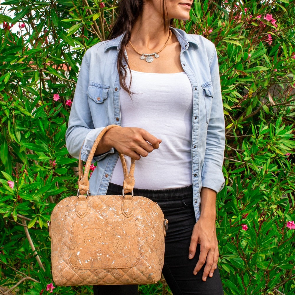 bag, Doctorstyled Corkbag - movevegan, vegan fashion product trends, cork, animal free