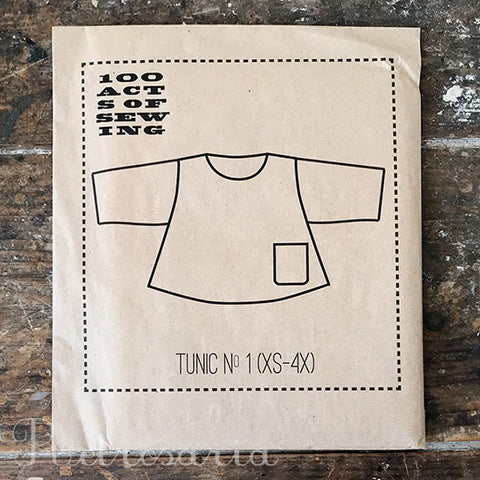 100 Acts of Sewing Tunic No. 1 sewing pattern