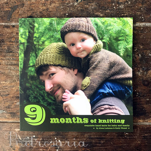 9 Months of Knitting: exquisite hand knits for baby and family