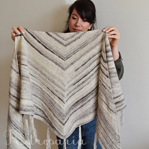 Betula shawl kit