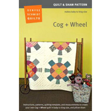 Cog + Wheel Quilt Pattern