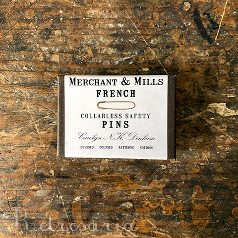 Alfinetes pequenos Merchant & Mills Nickel French Safety Pins
