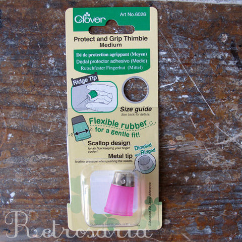Dedal em silicone Clover | Protect and grip thimble