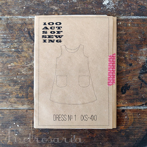 100 Acts of Sewing Dress No 1 sewing pattern