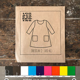100 Acts of Sewing Dress No 2 sewing pattern