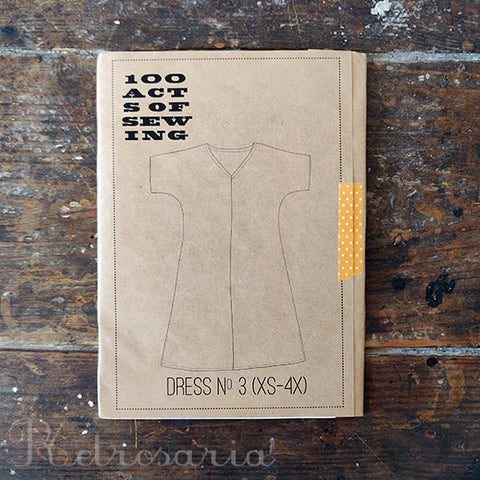100 Acts of Sewing Dress No 3 sewing pattern