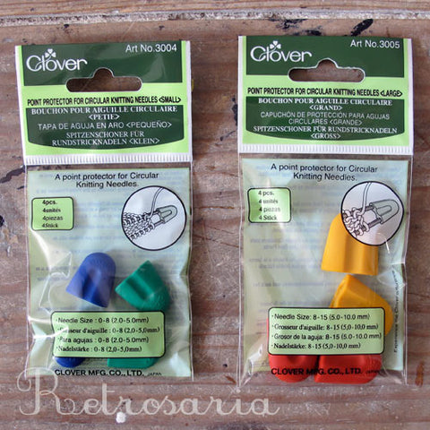 Protectores para agulhas circulares | Point protectors for circular knitting needles