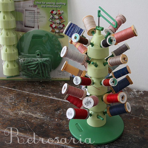Porta linhas Clover Stack 'n Stich Thread Tower
