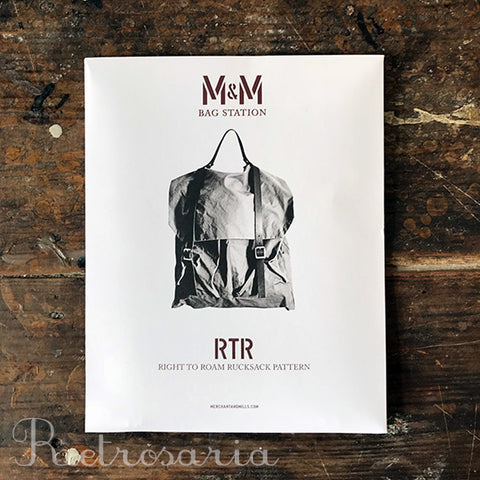 Merchant & Mills Right to Roam Bag Pattern
