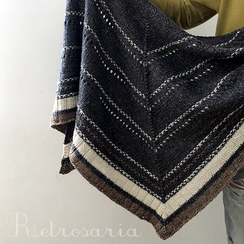 Rosa Shawl by Isabell Kraemer