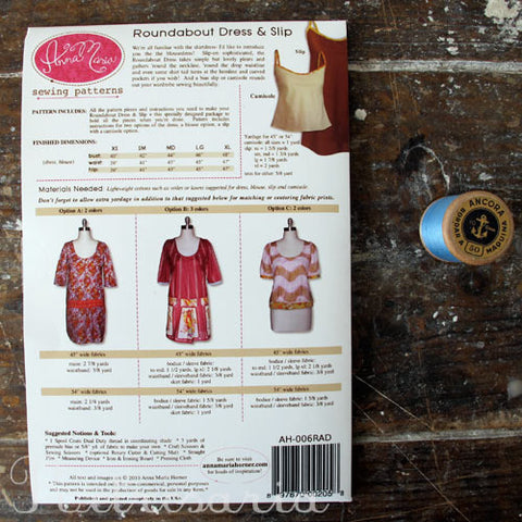 Roundabout Dress & Slip by Anna Maria Horner sewing patterns