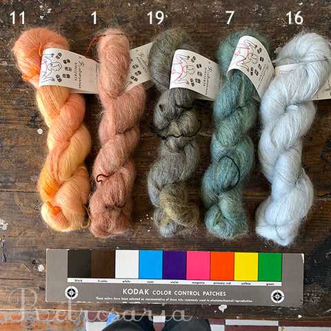 Mohair Silk Dyed by Alfinete