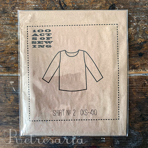 100 Acts of Sewing Shirt No. 2 sewing pattern