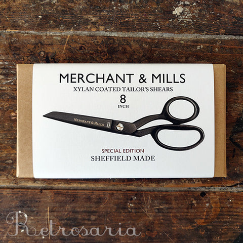 "Tesoura de alfaiate merchant & Mills Xylan Coated 8"" Tailor's Shears"