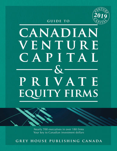 CANADIAN VENTURE CAPITAL & PRIVATE EQUITY FIRMS 2019