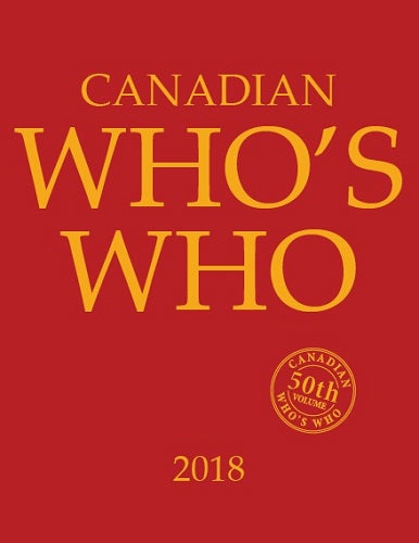 CANADIAN WHO'S WHO 2018