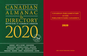 Package Deal: Canadian Almanac & Directory and Canadian Parliamentary Guide 2020
