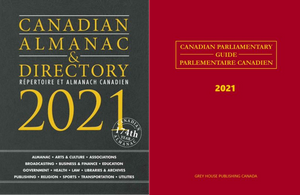 Package Deal: Canadian Almanac & Directory and Canadian Parliamentary Guide 2021