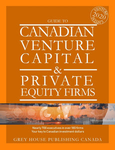 CANADIAN VENTURE CAPITAL & PRIVATE EQUITY FIRMS 2020