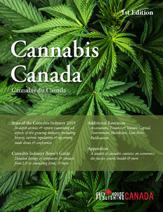 CANADIAN CANNABIS GUIDE 1st EDITION