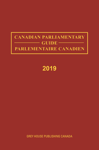 CANADIAN PARLIAMENTARY GUIDE 2019