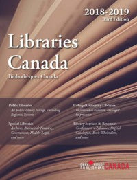 LIBRARIES CANADA 2018 - 2019
