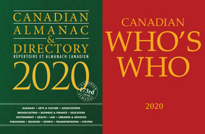 Package Deal: Canadian Almanac & Directory and Canadian Who's Who 2020