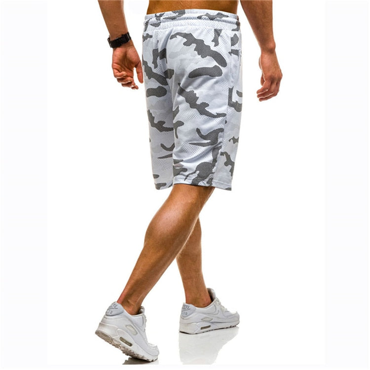 Camo Lightweight Workout Shorts