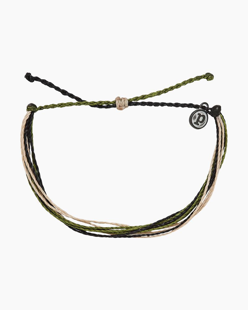 Pura Vida Original Bracelet-Camo for Our Troops