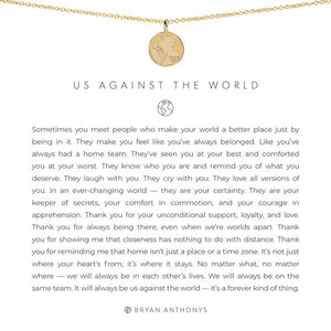 US AGAINST THE WORLD NECKLACE