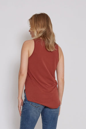 Modal V-Neck Tank | Bella Lucca Boutique