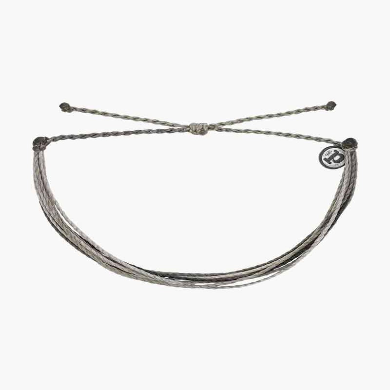 pura vida muted bracelet-steel anchors-Bella Lucca Boutique