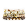 Vanilla Bean Bracelet Set-Bella Lucca Boutique